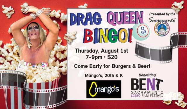image of drag queen bingo event
